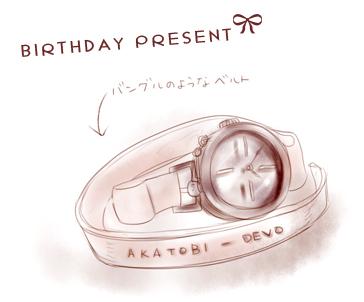オリジナル腕時計!